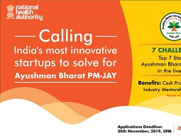 PMJAY Start Up Grand Challange